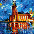 Lighthouse by Leonid Afremov