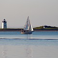Lighthouse Sail 2 by Gregory E Dean