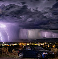 Lightning Storm by Aaron Acker