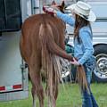 Lil' Cowgirl by Glenn Matthews