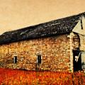 Lime Stone Barn by Julie Hamilton