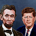 Lincoln And Kennedy by Stan Hamilton