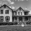 Lincoln Cottage In Black And White by Craig Fildes