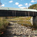 Lincoln Covered Bridge by Catherine Gagne