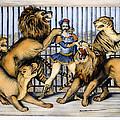 Lion Tamer, 1873 by Granger