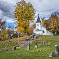 Country Church by Claudia Kuhn