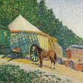 Little Circus Camp  by Albert Dubois-Pillet