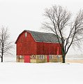 Little Red Barn by Todd Klassy