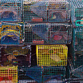 Lobster Traps by Linda Drown