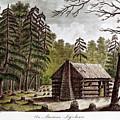 Log Cabin, 1826 by Granger