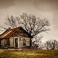 Log Cabin by Leroy McLaughlin