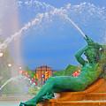 Logan Circle Fountain 1 by Bill Cannon