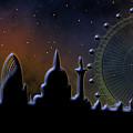 London Skyline by Michal Boubin