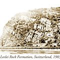 Lorelei Rock Formation, Switzerland, 1903 by A Gurmankin