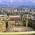 Los Angeles Skyline From Mulholland by Panoramic Images