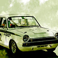 Lotus Cortina by Roger Lighterness