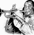 Louis Armstrong by Greg Joens