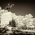 Louisiana Monument At Gettysburg by Paul W Faust -  Impressions of Light