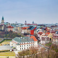 Lublin Old Town Panorama Poland by Michal Bednarek