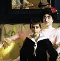 Lucrecia Arana With Her Son by Joaquin Sorolla