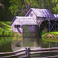 Mabry Mill by Larry Hoskins