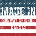 Made In Conway Springs, Kansas by Tinto Designs