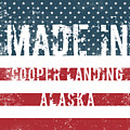 Made In Cooper Landing, Alaska by Tinto Designs