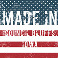 Made In Council Bluffs, Iowa by Tinto Designs
