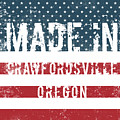 Made In Crawfordsville, Oregon by Tinto Designs