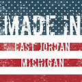 Made In East Jordan, Michigan by Tinto Designs