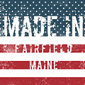 Made In Fairfield, Maine by Tinto Designs