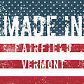 Made In Fairfield, Vermont by Tinto Designs