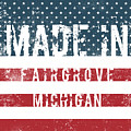 Made In Fairgrove, Michigan by Tinto Designs