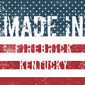 Made In Firebrick, Kentucky by Tinto Designs