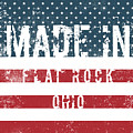 Made In Flat Rock, Ohio by Tinto Designs