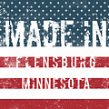 Made In Flensburg, Minnesota by Tinto Designs