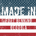 Made In Fort Benning, Georgia by GoSeeOnline