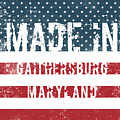 Made In Gaithersburg, Maryland by Tinto Designs