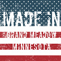 Made In Grand Meadow, Minnesota by Tinto Designs