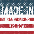 Made In Grand Rapids, Michigan by Tinto Designs