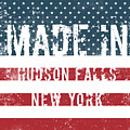 Made In Hudson Falls, New York by Tinto Designs