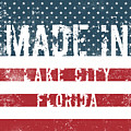 Made In Lake City, Florida by Tinto Designs