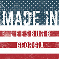 Made In Leesburg, Georgia by Tinto Designs