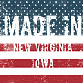 Made In New Virginia, Iowa by Tinto Designs
