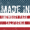 Made In Newbury Park, California by Tinto Designs