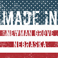 Made In Newman Grove, Nebraska by Tinto Designs