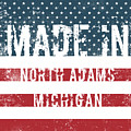 Made In North Adams, Michigan by Tinto Designs