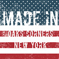 Made In Oaks Corners, New York by Tinto Designs