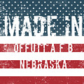 Made In Offutt A F B, Nebraska by Tinto Designs