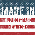 Made In Old Bethpage, New York by Tinto Designs
